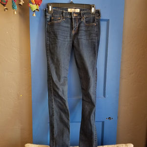 Hollister jeans size 1 long super skinny